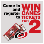 Visit Johnson Optometric Associates for your chance to win hurricanes tickets